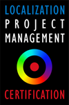 Certified Localization Project Manager